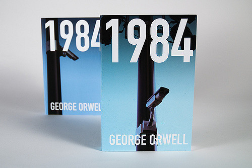 "book cover of George Orwell's ""1984"""